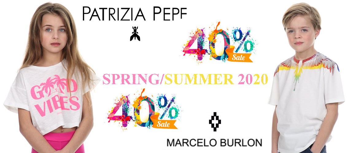 Sale patrizia pepe and marcelo burlon