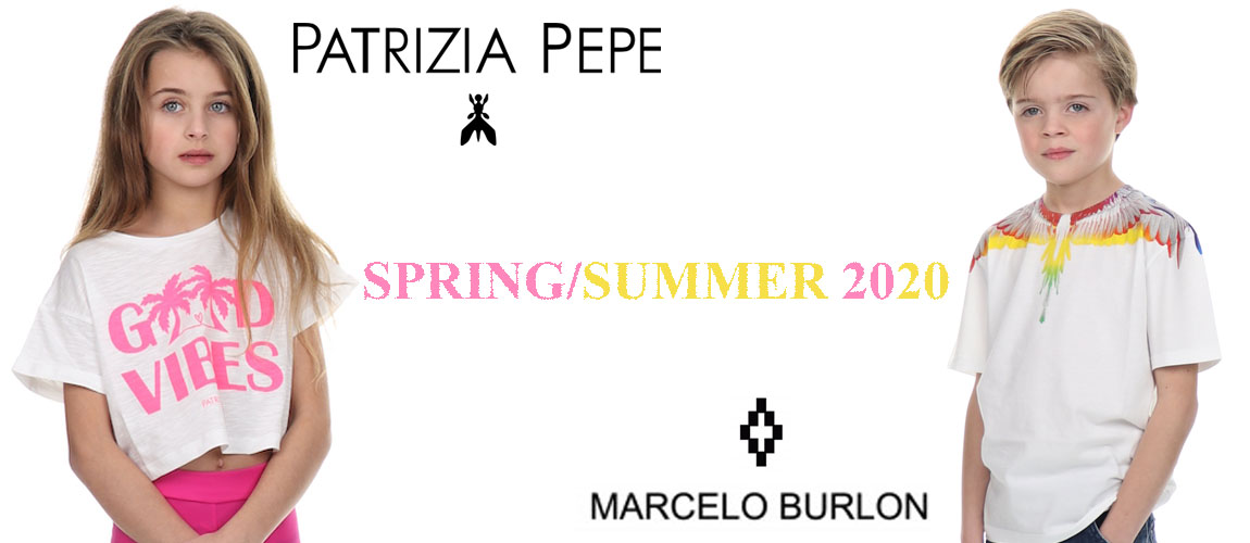 New IN patrizia pepe and marcelo burlon