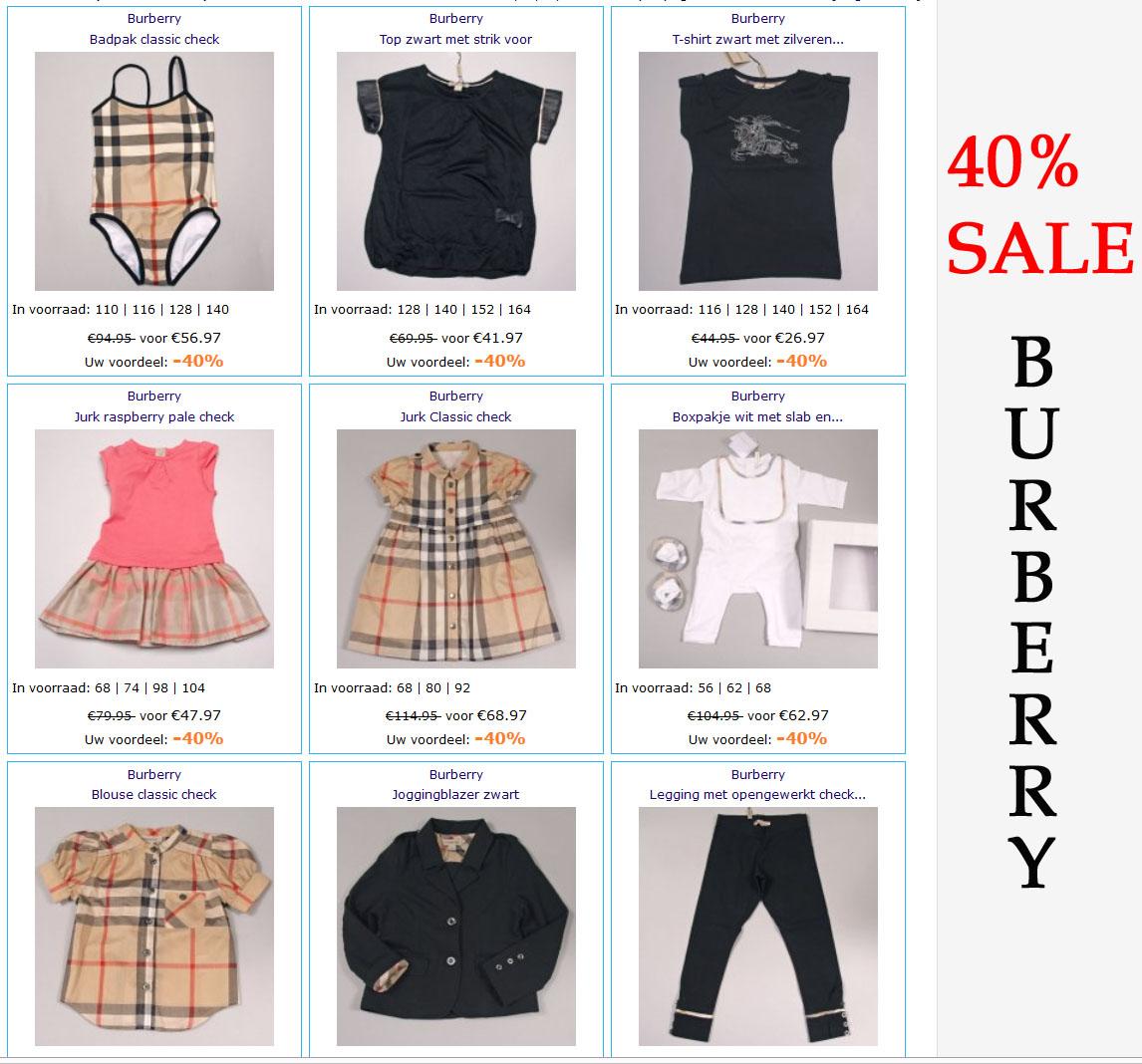 burberry sale kinderkleding mijn idee van mode. Black Bedroom Furniture Sets. Home Design Ideas