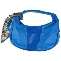Blauwe tas ,et sjaal