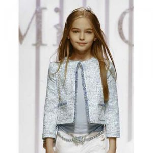 Miss Grant Giacca look alike light blue