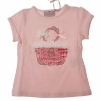 T-shirt tasje Pink fairy