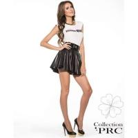 Collection PRC Fake leather rok zwart