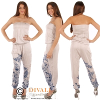Guess jeans Jumpsuit Aletta bird grey
