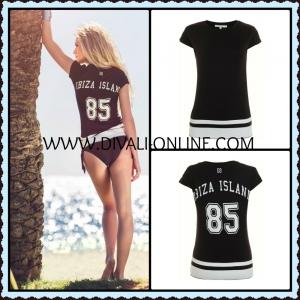 Nikkie By Nikkie Plessen T-shirt Isla Ibiza black