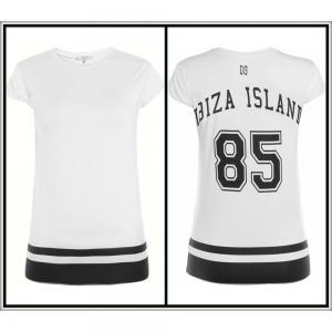 Nikkie By Nikkie Plessen T-shirt Isla Ibiza off-white