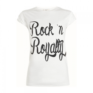 Nikkie By Nikkie Plessen T-shirt Rock n Royallty off-white
