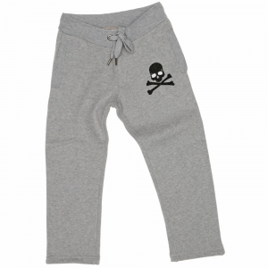 Philipp Plein Petite Joggingbroek Skull steentjes grey