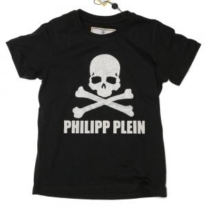 Philipp Plein Petite T-shirt Skull black