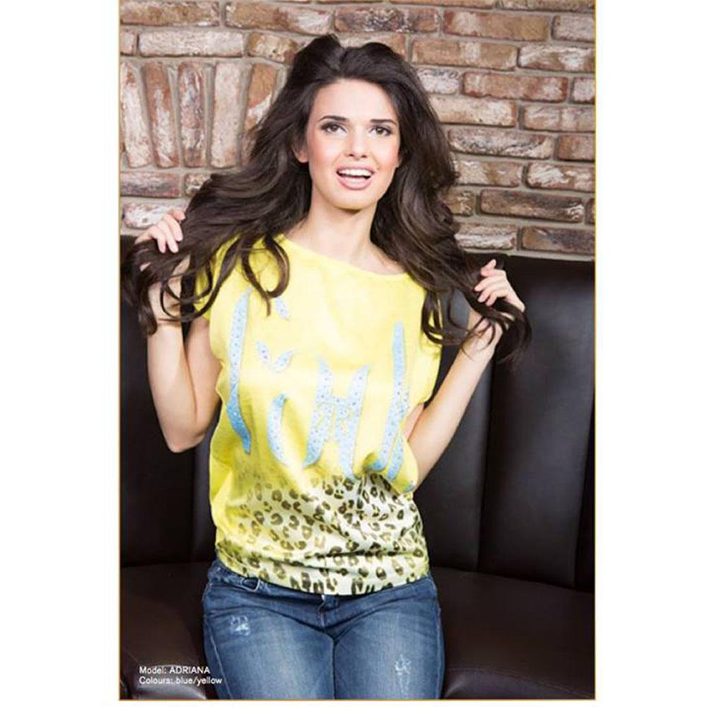 Rich Top Adriana Yellow