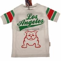 T-shirt Bulldog white