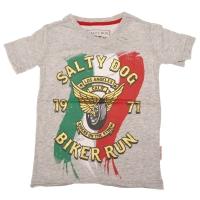T-shirt Biker run jersey grey melee