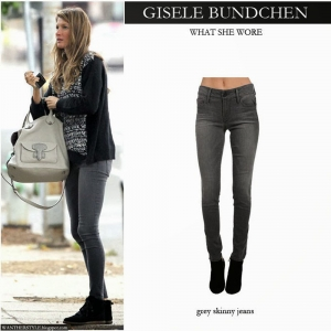 Black Orchid Skinny Jeans Sienna Ash grey