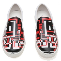 Bikkembergs Instapper Graphic print White