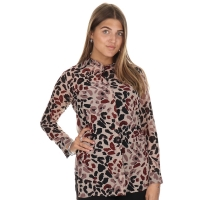 Given Lange Blouse Ciara Deep red