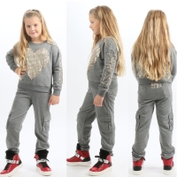 Twin Set Joggingbroek Studs Grey