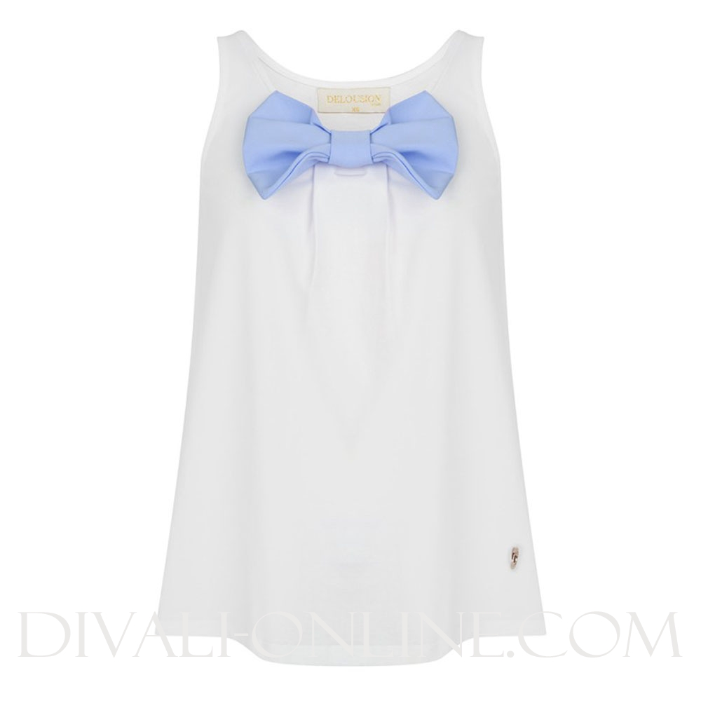 Top Melo White-Blue