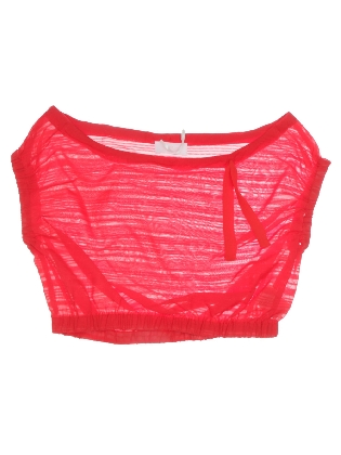 Cropped Top Red