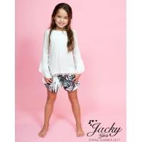 Jacky Luxury Kids Boho Tuniek Off-White