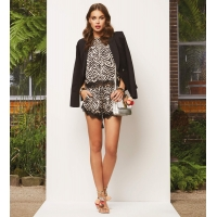 JoshV Top Amaya Animal Print