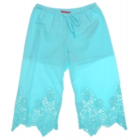 Kate Mack Samples Broek Blue Kant