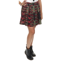 Lovit Rok Print Green Black And Red