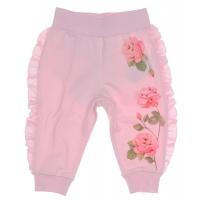 Monnalisa Joggingbroek Roses Pink