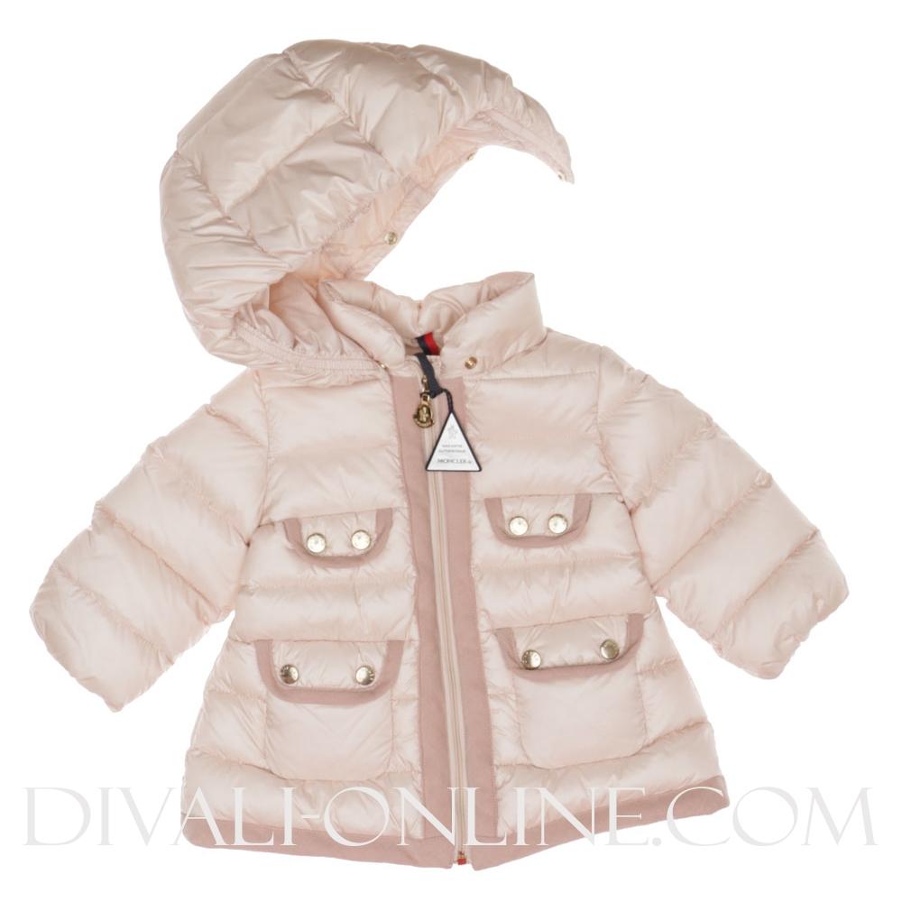 Baby Winterjas Lang Oud Roze