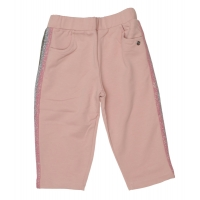 Miss Grant Joggingbroek Paillet lurex stripes Pink