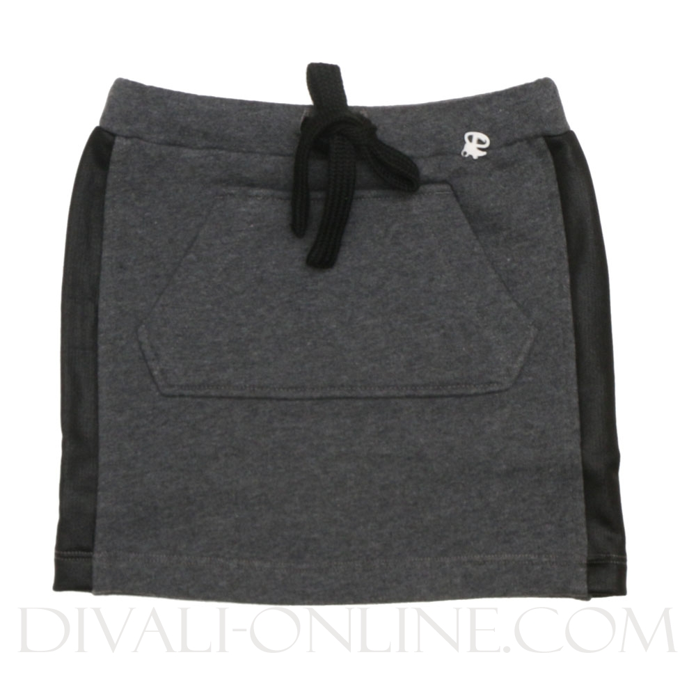 Joggingrok Buidelzak Grey-black