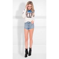 Nikkie By Nikkie Plessen T-shirt VIP LS Off White