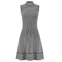 Nikkie By Nikkie Plessen Dress Janilla Ventura Black/ Off White