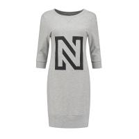 Nikkie By Nikkie Plessen N Sweaterdress Grey Melange NOS