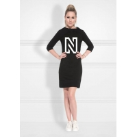 Nikkie By Nikkie Plessen N Sweaterdress Black NOS