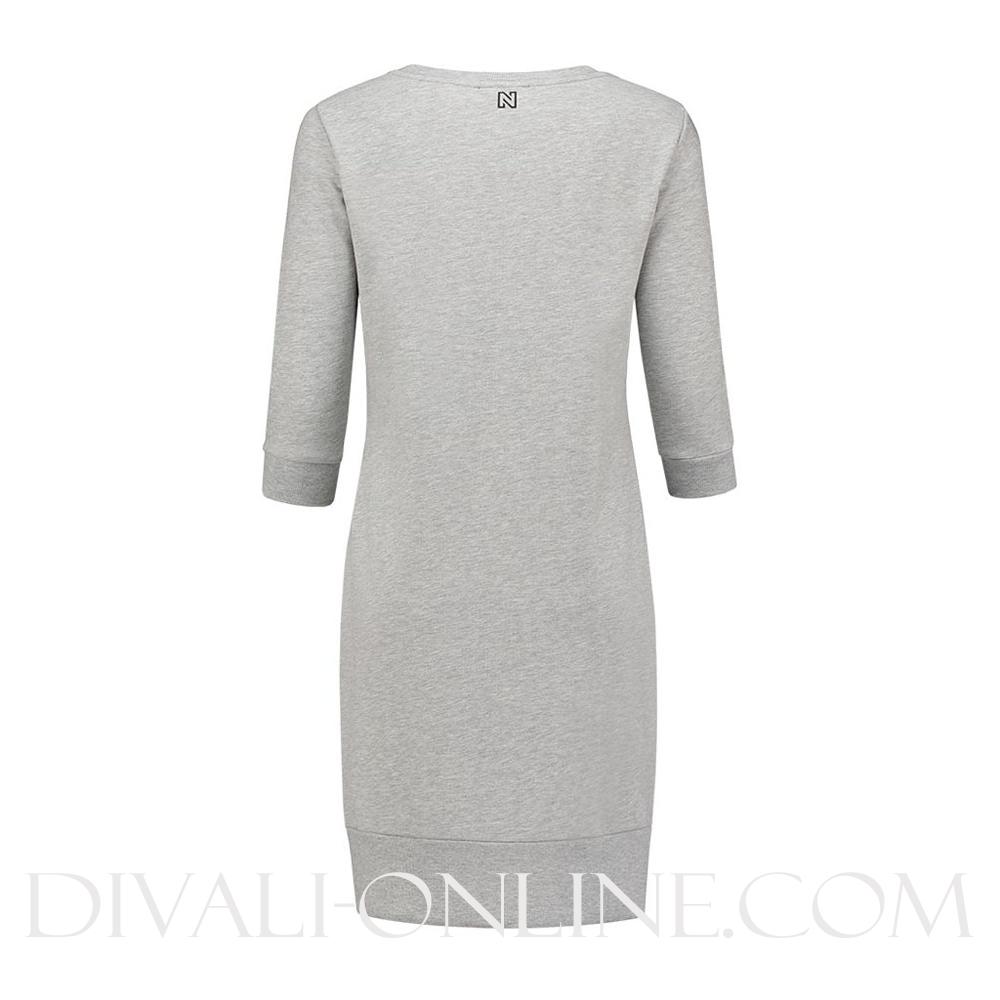 N Sweaterdress Grey Melange NOS