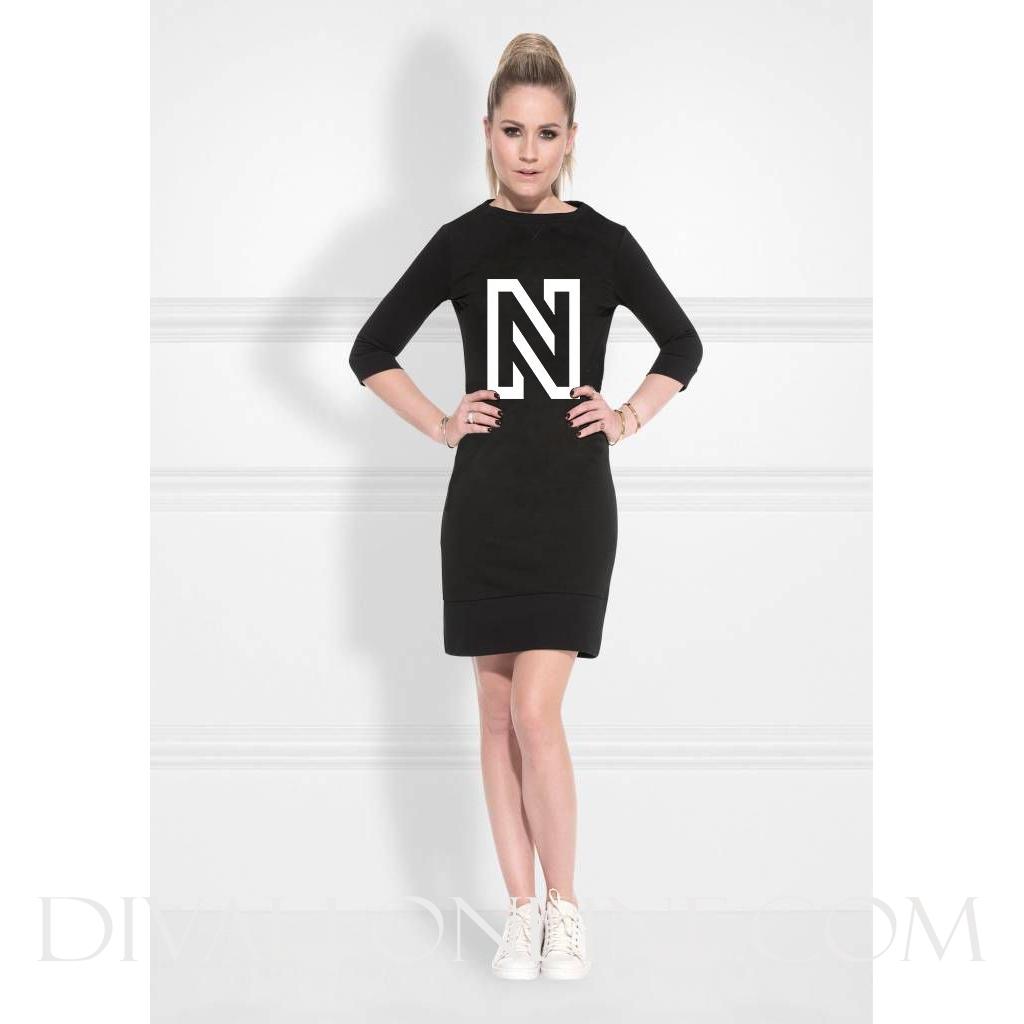 N Sweaterdress Black NOS