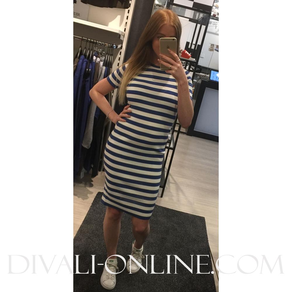 Dress Jolie SS OffWhite/Morning
