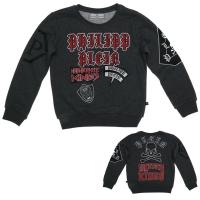 Philipp Plein Petite Sweater LS Travis Grey