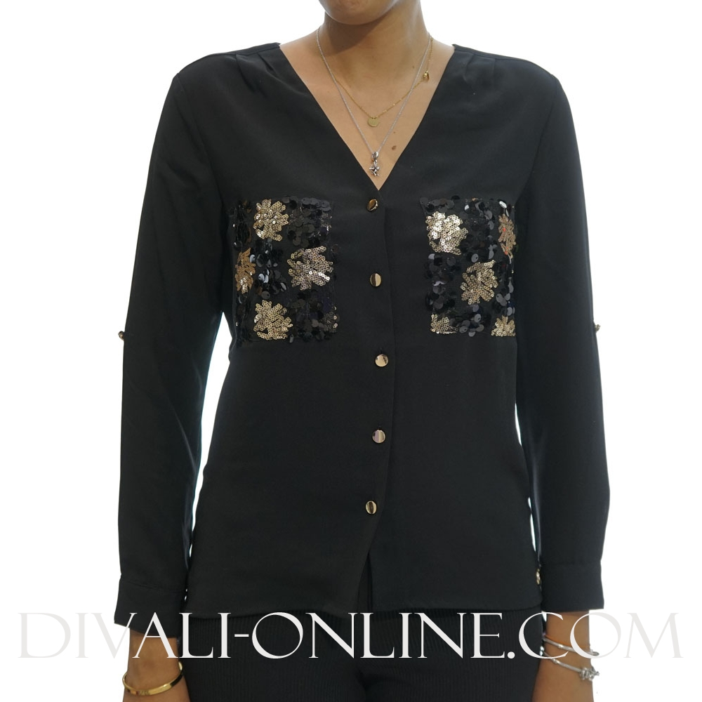 Blouse Zoe Black