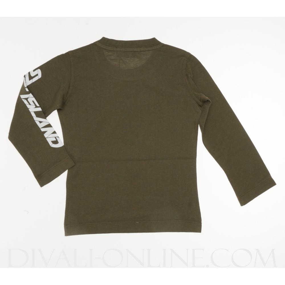 Stone Island White Military Shirt Junior