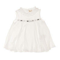 Elisabetta Franchi Girls A-Lijn Top White