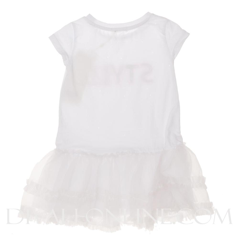 Jurk Offwhite Baby Girl