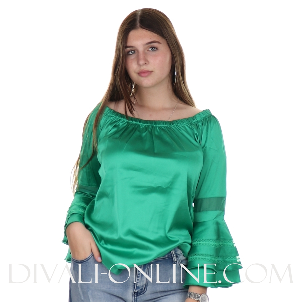Blouse Marlon Green