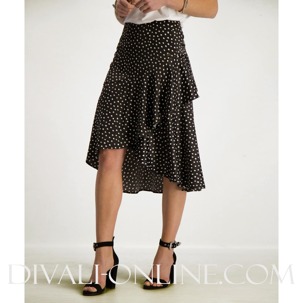 Skirt Adalyn Black Polkadot