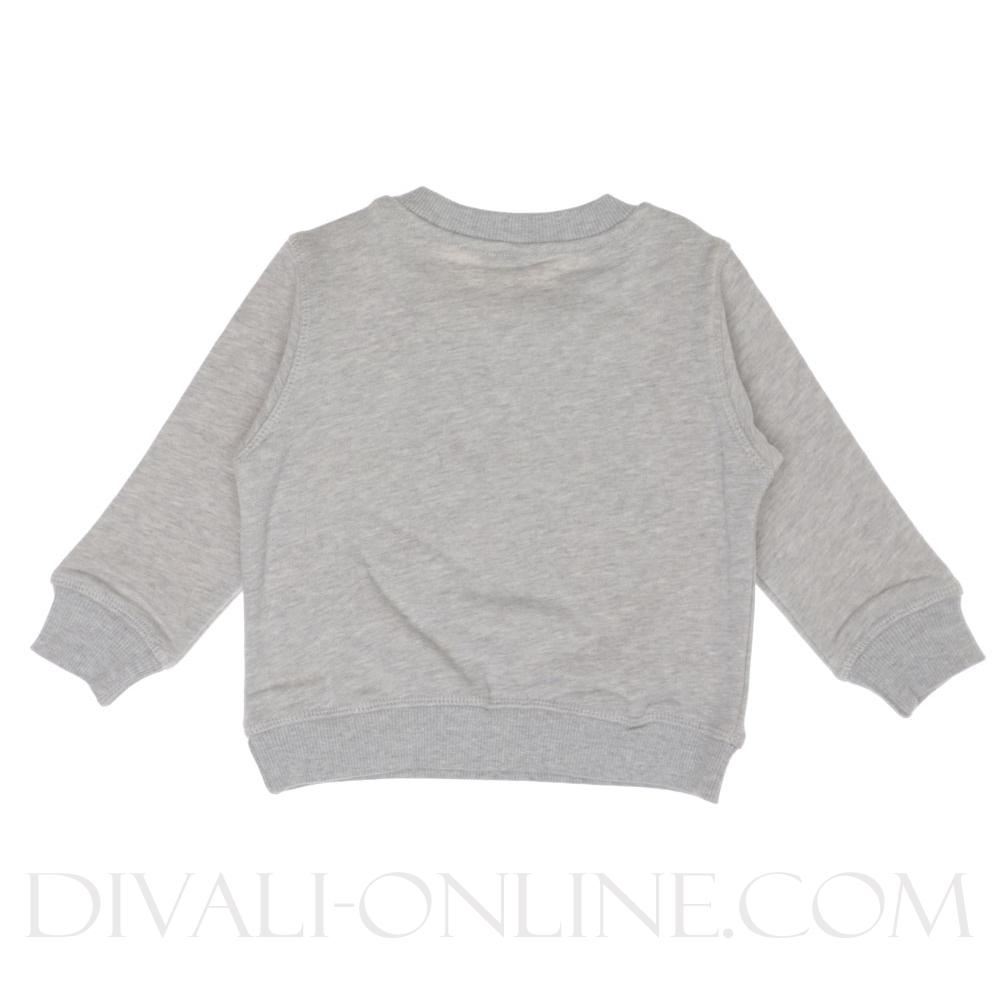 Sweater Tiger Marl grey-yellow