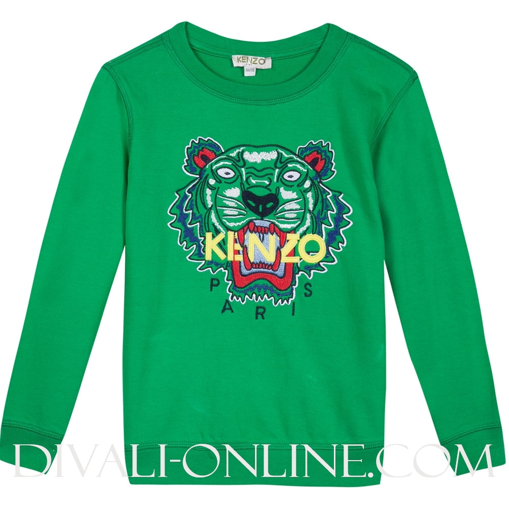 Sweater Tiger Green