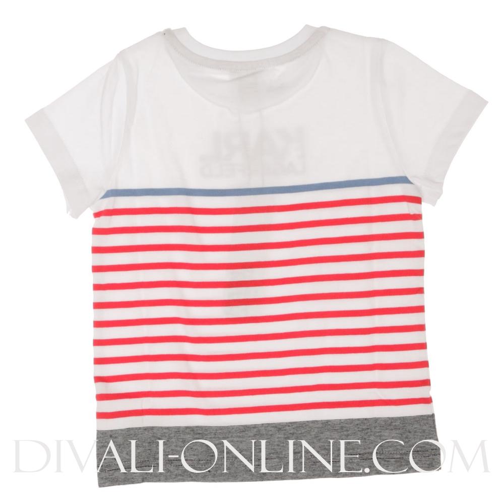 Tshirt Stripe Red