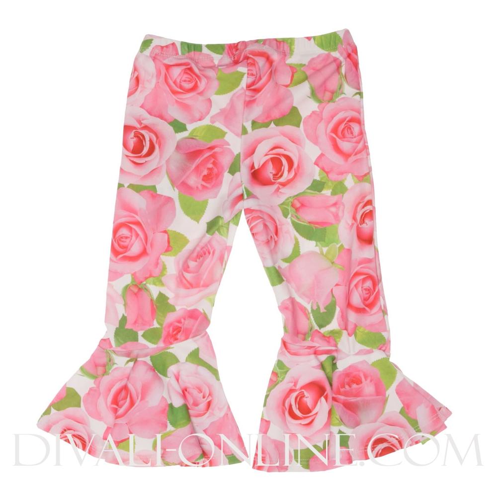 Broek Roezel roses Pink