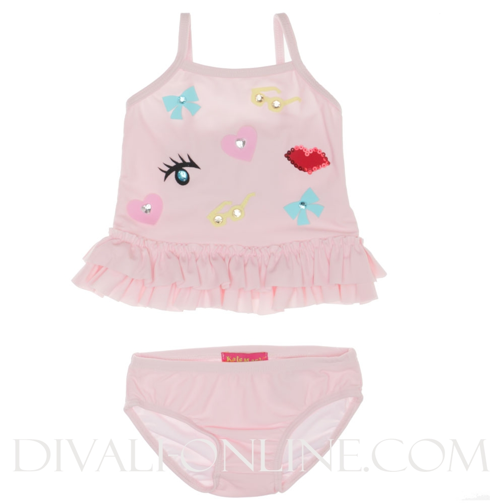 Baby Tankini Eye Pink