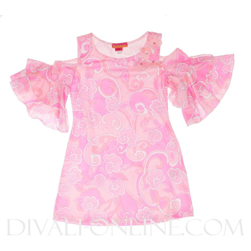 Tuniek Ruffle fantasy Pink